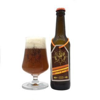 Ahoi Bier Flasche und Glas Navigation Pale Ale