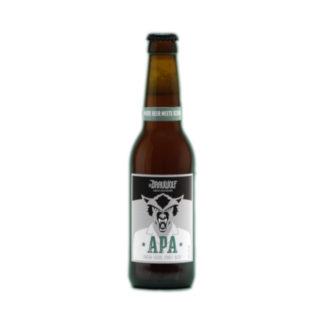 Dr Brauwolf Bierflasche American Pale Ale