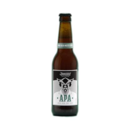Dr Brauwolf bouteille bière American Pale Ale