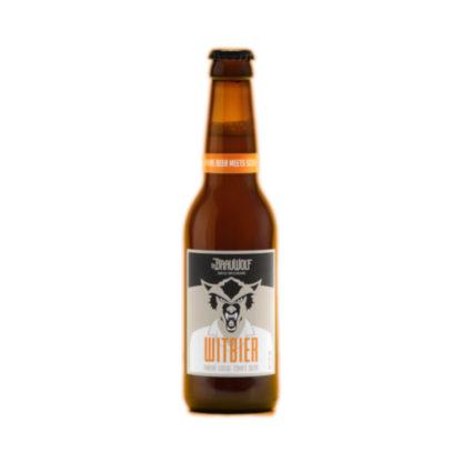Dr Brauwolf Bierflasche Witbier