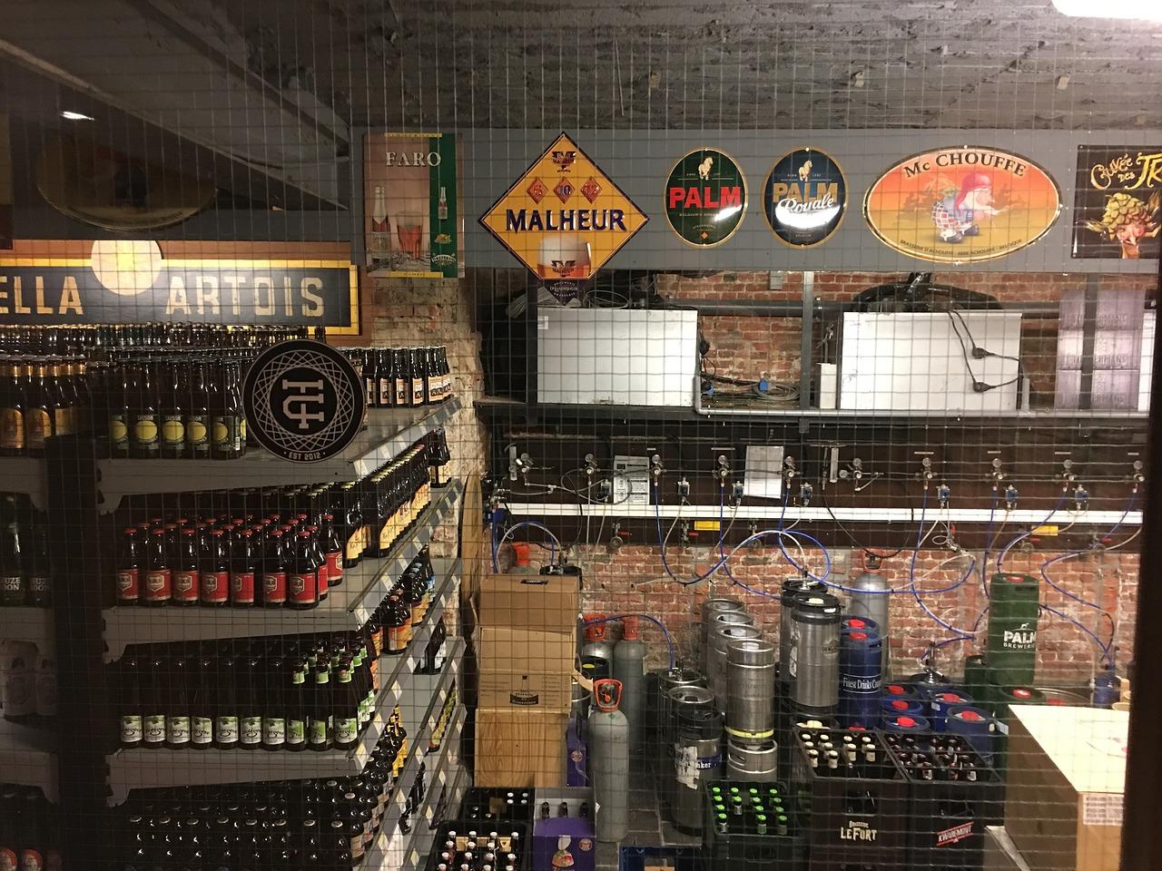 Cave à bière